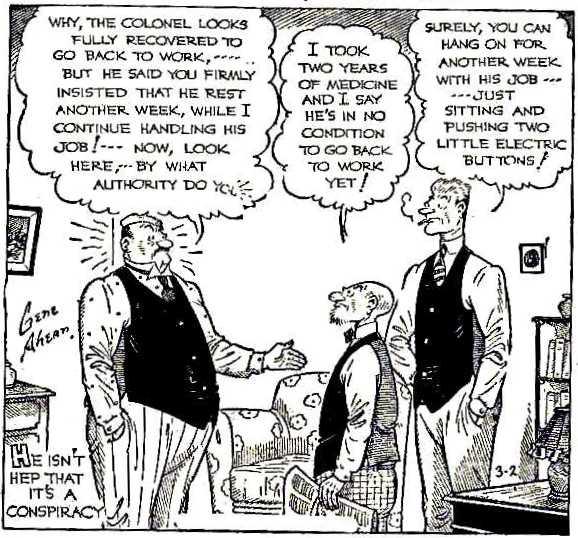 Death of a salesman comic strip